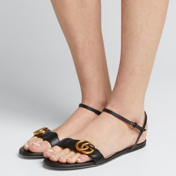Gucci Shoes | Guccimarmont Flat Doubleg